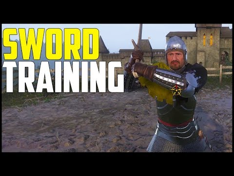 Kingdom Come: Deliverance - Part 4: Sword Training and Bow Competition! (Walkthrough)