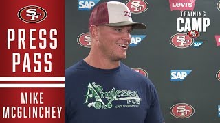 Mike McGlinchey Shares Goals for the 49ers 2019 Season and Beyond | San Francisco 49ers