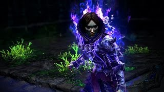Path of Exile: Purple Necrotic Armour Body