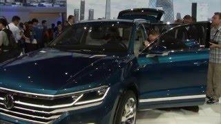 Volkswagen T-Prime Concept GTE at Auto China 2016   AutoMotoTV