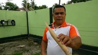 Lelaki ini menguji ilmu kebal bambu tapi apayg terjadi....
