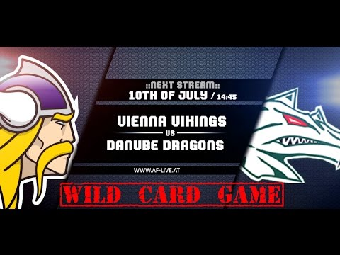 Vienna Vikings vs Danube Dragons - AF-Live 2016