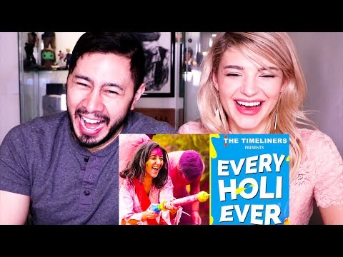 EVERY HOLI EVER | The Timeliners | Reaction!