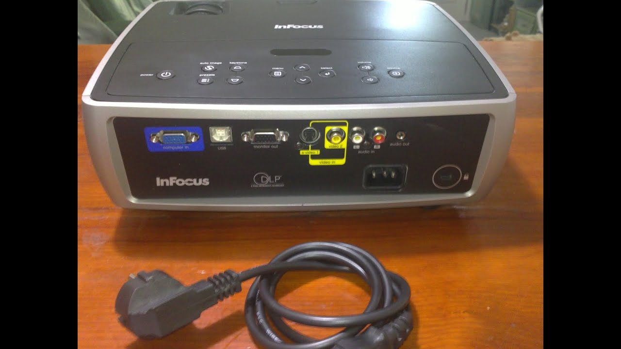 infocus in24 dlp projector model w240 2400 lumens 06 junio 2014 rh youtube com infocus projector model w240 manual Infocus Projector W240