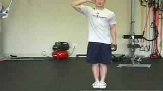 FreeFitnessVideos.com: Dumbbell Lateral Flexion