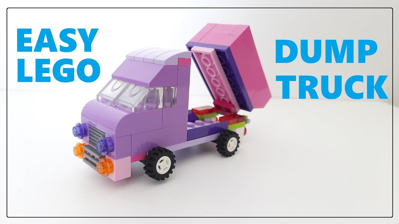 Download Lego dump truck - Lego Classic 10717
