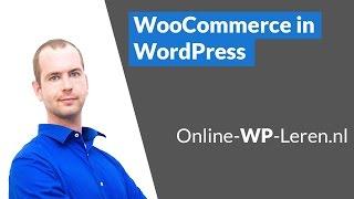 WooCommerce installeren, instellen en producten verkopen