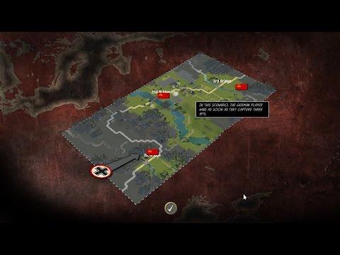 Battle Academy 2 - Playing Three Bridges Scenario