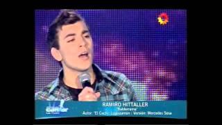 """Ramiro Hittaller - """"Balderrama"""" - Soñando por cantar - 07/09/13"""