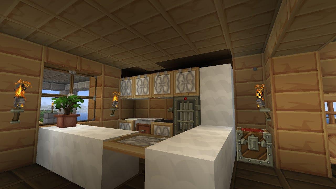 Minecraft Kücheneinrichtung Küche Einrichten Holzhaus