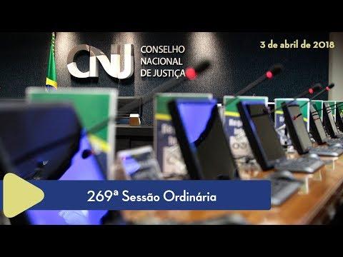 269ª Sessão Ordinária - 3 de Abril de 2018