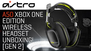 Astro Gaming A50 Xbox One Edition Wireless Headset Unboxing! (Gen 2)