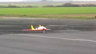 Jet RC HARPOON II  J Correia, premier vol 12 12 2009