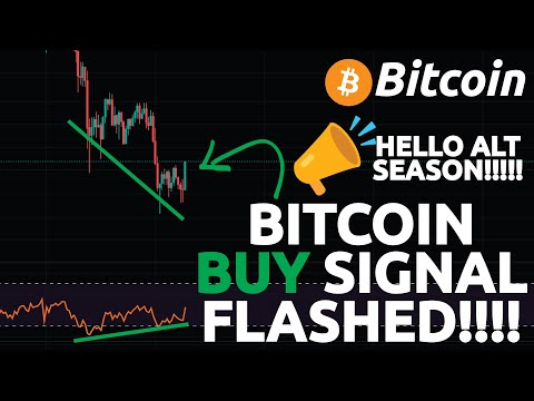 BITCOIN BUY SIGNAL FLASHED!!!!!!!! (Most Important Bitcoin Levels RIGHT NOW!)