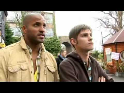Hollyoaks Backstage - The Fire At The Loft, prt 2 (Jamie Lomas, Ricky Whittle & Kieron Richardson)