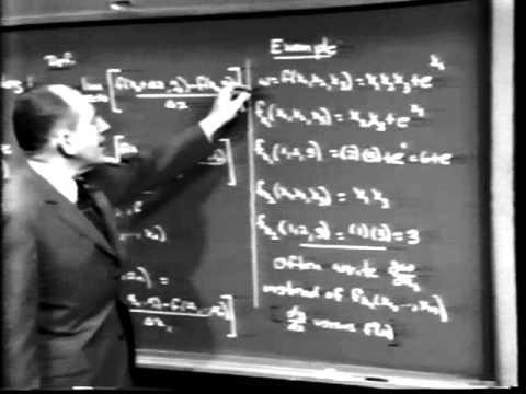 Part III: Partial Derivatives, Lec 2 | MIT Calculus Revisited: Multivariable Calculus