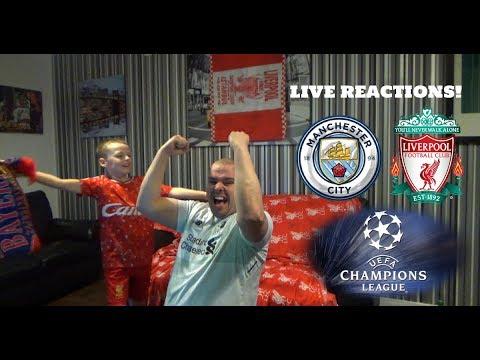 Man city vs liverpool , champions league q final 2nd leg live reactions!