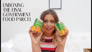 UNBOXING THE FINAL GOVERNMENT FOOD PARCEL - DID IT EVER CHANGE?? - Tanya Louise