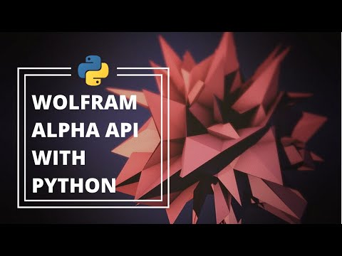 How To Use The Wolfram Alpha API In Python (Build An Assistant Under 7 Minutes)