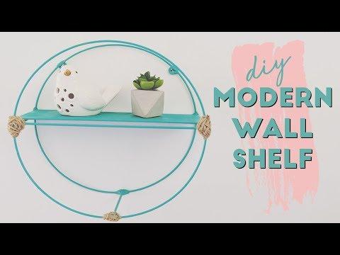 DIY Modern Wall Shelf