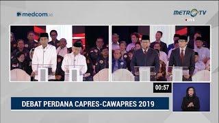 Debat Pilpres 2019 Part 4 - Prabowo Janji Naikkan Gaji ASN, ini Respons Jokowi