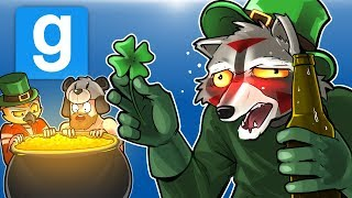 Gmod Ep. 74 Death Run! - St. Patrick's Day House Party! (Garry's Mod Funny Moments)