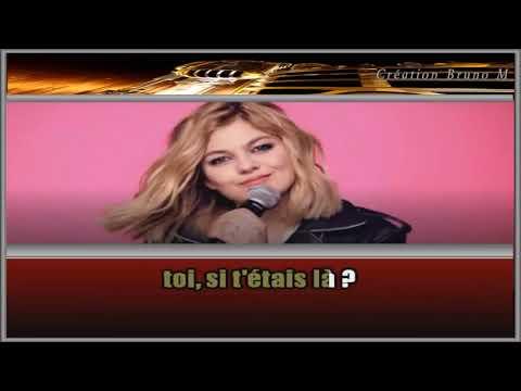 Louane - Si T'étais Là - Karaoke Version