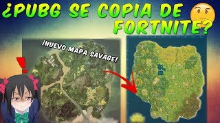 IS IT COPYED FROM FORTNITE? PUBG SAVAGE NEW MAP ? FREE PUBG? PUBG VS FORTNITE COMPARATION