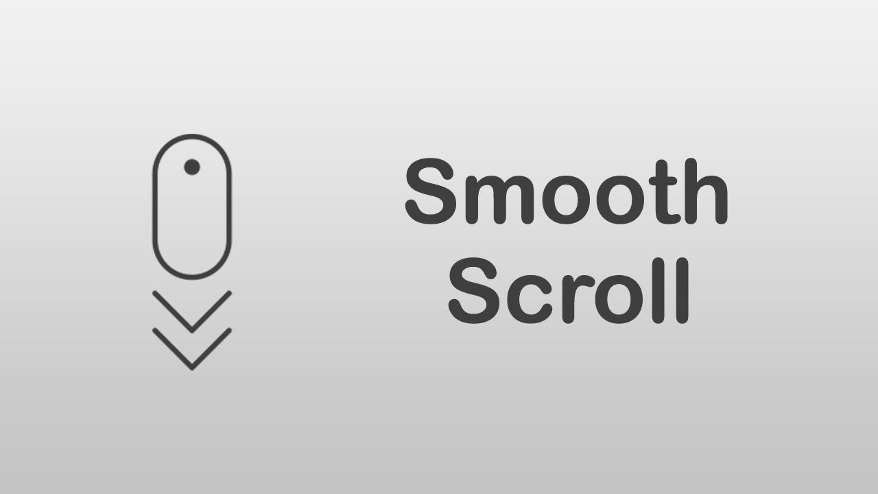 [ Arabic Tutorials ] How To Install And Use jQuery Smooth Scroll Plugin