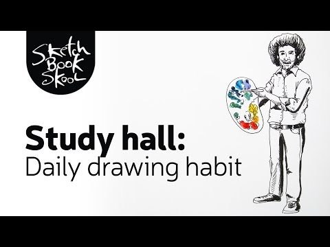 Study Hall: A Daily Drawing Habit