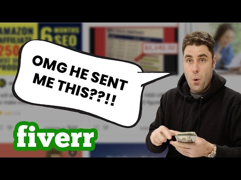 I Paid People On Fiverr To Teach Me How To Make Money Online!