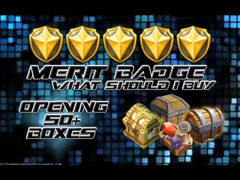 Castle Clash: Merit Badges & Mesa Box Rewards