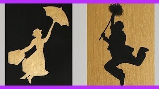 DIY Mary Poppins Inspired Wall Art | An Anneorshine Disney Exclusive