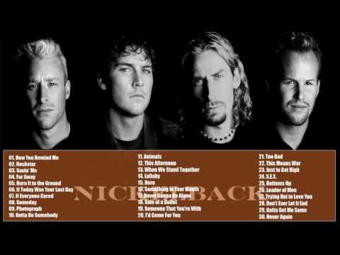 Nickelback Greatest Hits album || The Best Of Nickelback Songs