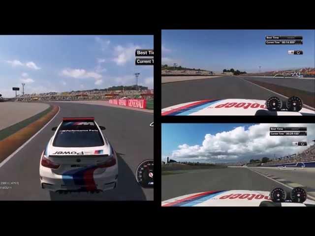 MotoGP 14 Safety Car action!