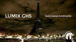 Panasonic Lumix GH5 - Test en basse luminosité
