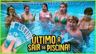 ULTIMO A SAIR DA PISCINA GANHA 5000 R$!! [ REZENDE EVIL ]