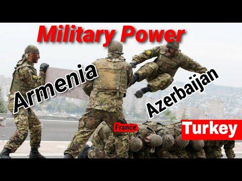 Armed Forces Military Power 2020 || Azerbaijan Vs Armenia Vs Turkey Vs France