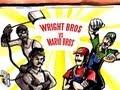 MARIO BROS vs WRIGHTBROS - Epic Drawing of History!