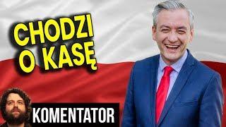 Robert Biedroń NIE Wystartuje Do Sejmu bo Straciłby 3 Miliony Złotych - Analiza Komentator Polityka