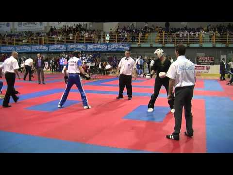 Stepan Yuzdenskiy v Karl Wilson WAKO Junior European Championships 2013