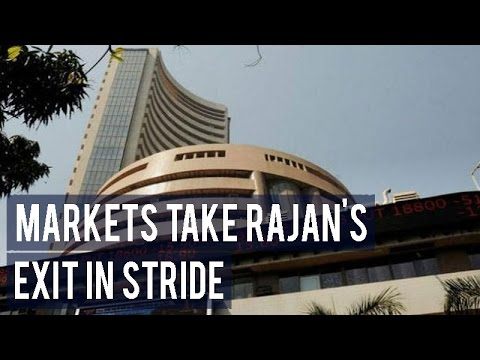 Markets take Rajan's exit in stride; reverse early losses