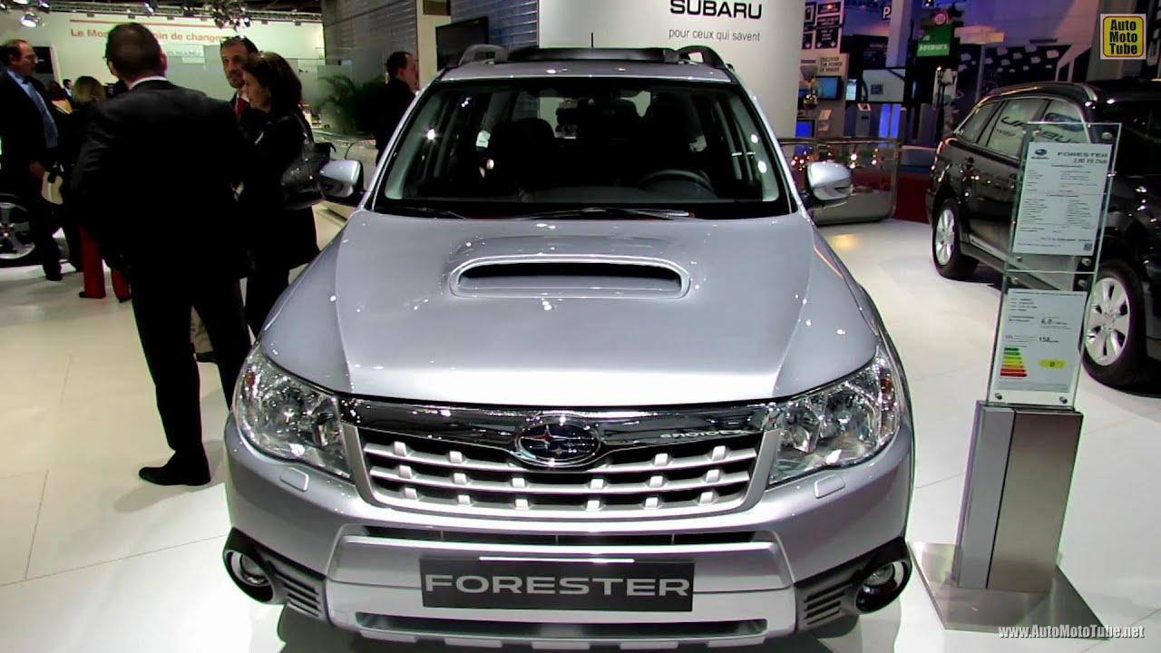 2013 Subaru Forester Xs Club Diesel Exterior And Interior Walkaround 2012 Paris Auto Show