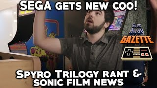 Spyro Trilogy Rant, Sonic Film News, and New COO at SEGA - Game Away Gazette