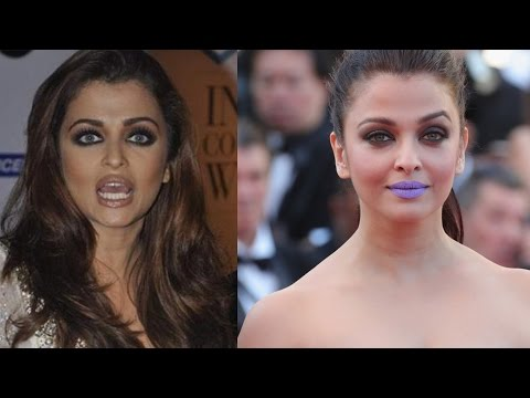 Aishwarya Rai Reacts To Her 'Purple Lips' Controversy At Cannes !