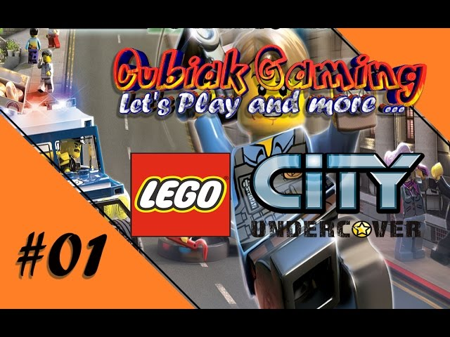 CHASE MCCAIN, DIE LEBENDE LEGENDE ★ Let's Play LEGO City Undercover #01