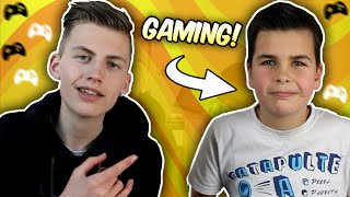 MON FRÈRE TEST LE GAMING..! - TIM