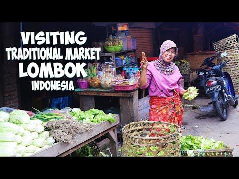 VISITING TRADITIONAL MARKET I LOMBOK INDONESIA I LOMBOK TRAVEL VLOG