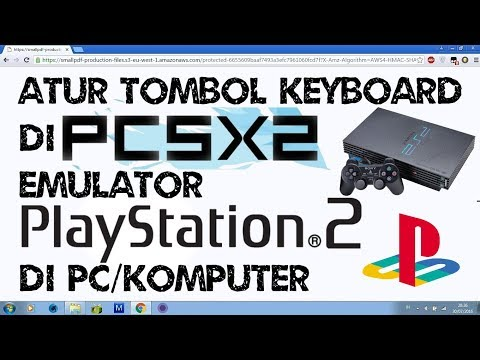 Repeat pcsx2 game control with KEYBOARD and then play game