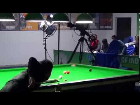 Pankaj Advani's break of 139 in Championship Winning Frame